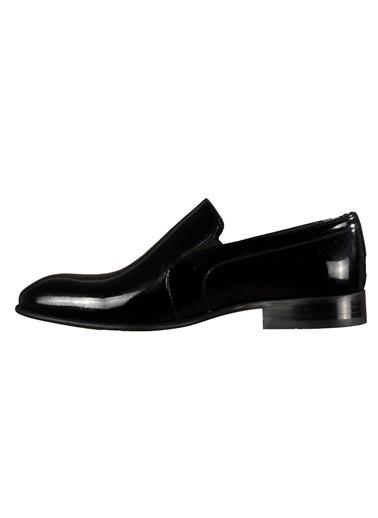 Luciano Bellini Hakiki Deri 152311 Siyah Erkek Klasik Ayakkabı Siyah